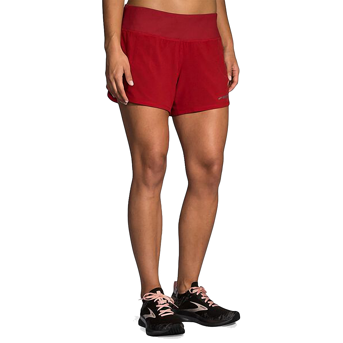 "Women's Brooks Chaser 5"" Short  - Color: Beet - Size: XS, Beet, large, image 1"