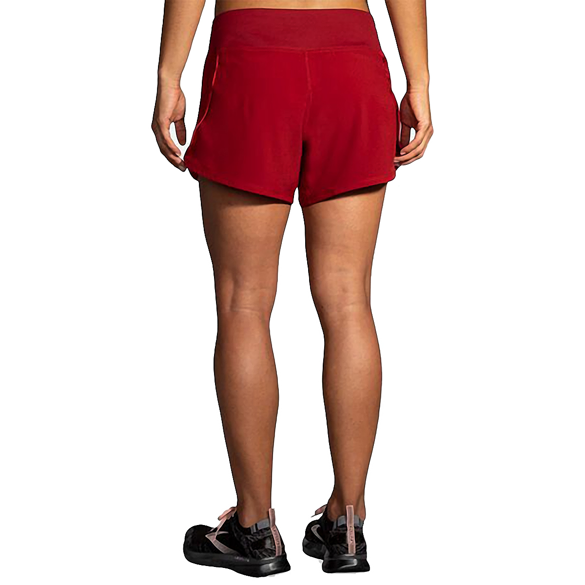 "Women's Brooks Chaser 5"" Short  - Color: Beet - Size: XS, Beet, large, image 2"