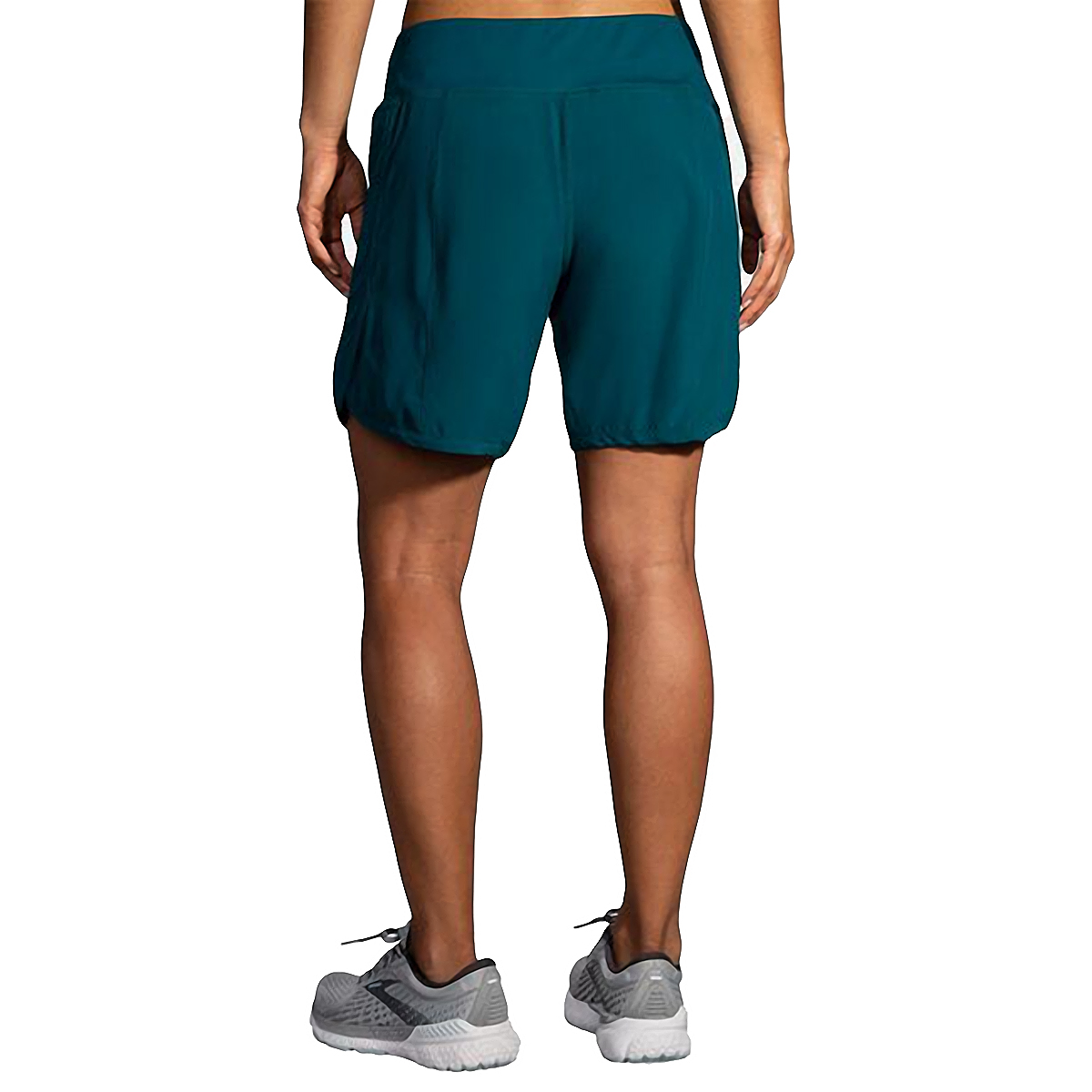 """Women's Brooks Chaser 7"""" Short  - Color: Deep Sea - Size: XS, Deep Sea, large, image 2"""