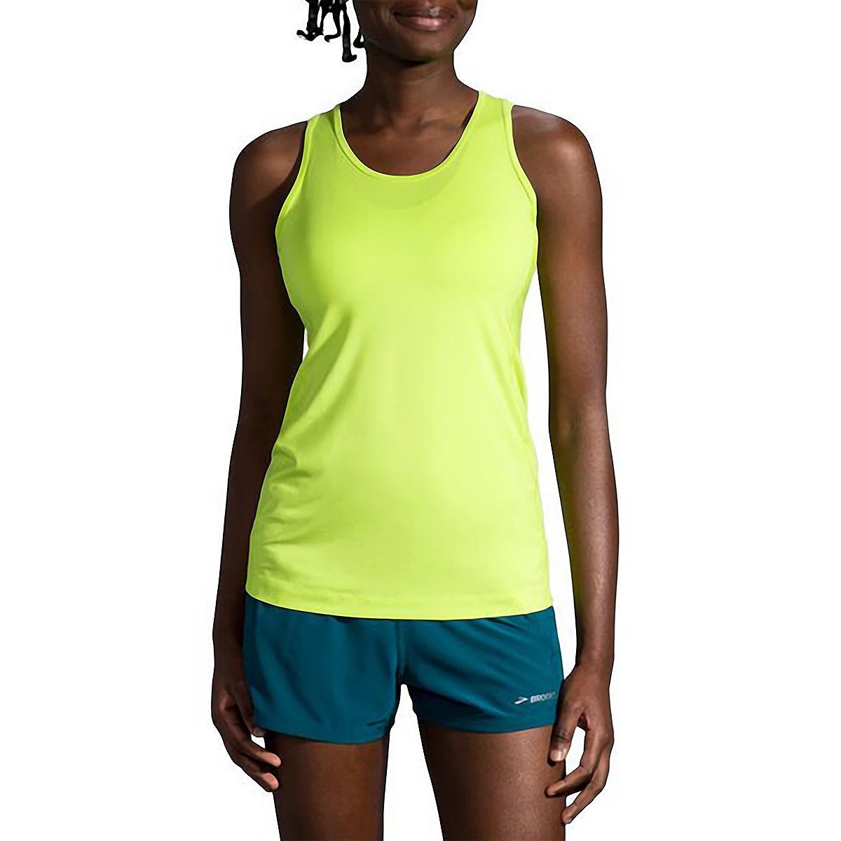 Women's Brooks Pick-Up Tank  - Color: Lime - Size: XS, Lime, large, image 1