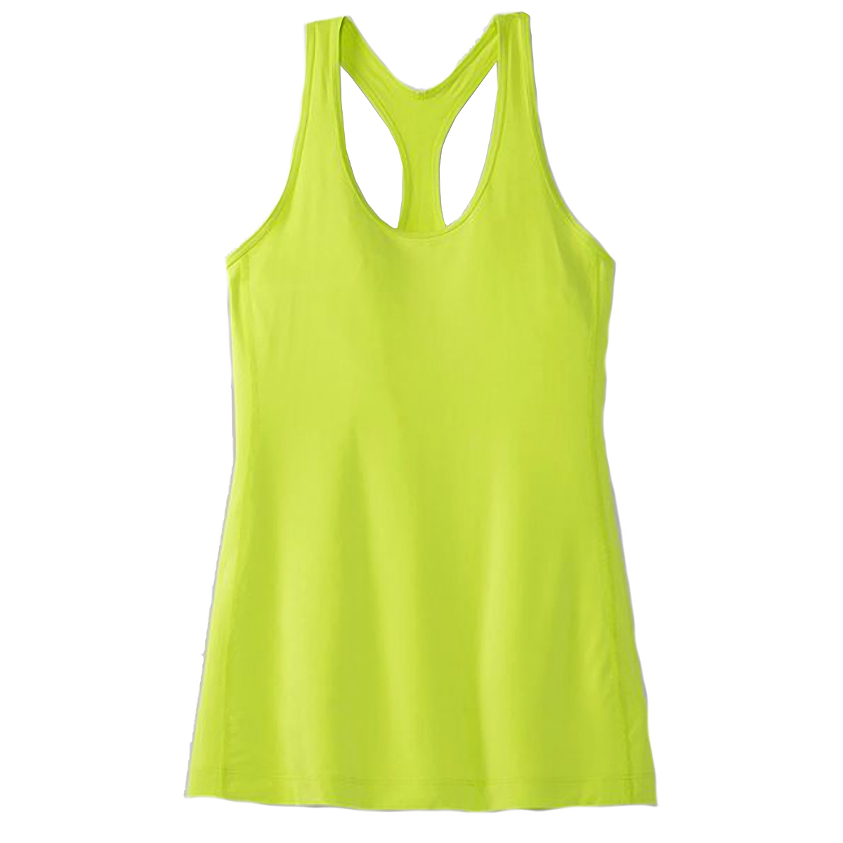 Women's Brooks Pick-Up Tank  - Color: Lime - Size: XS, Lime, large, image 4