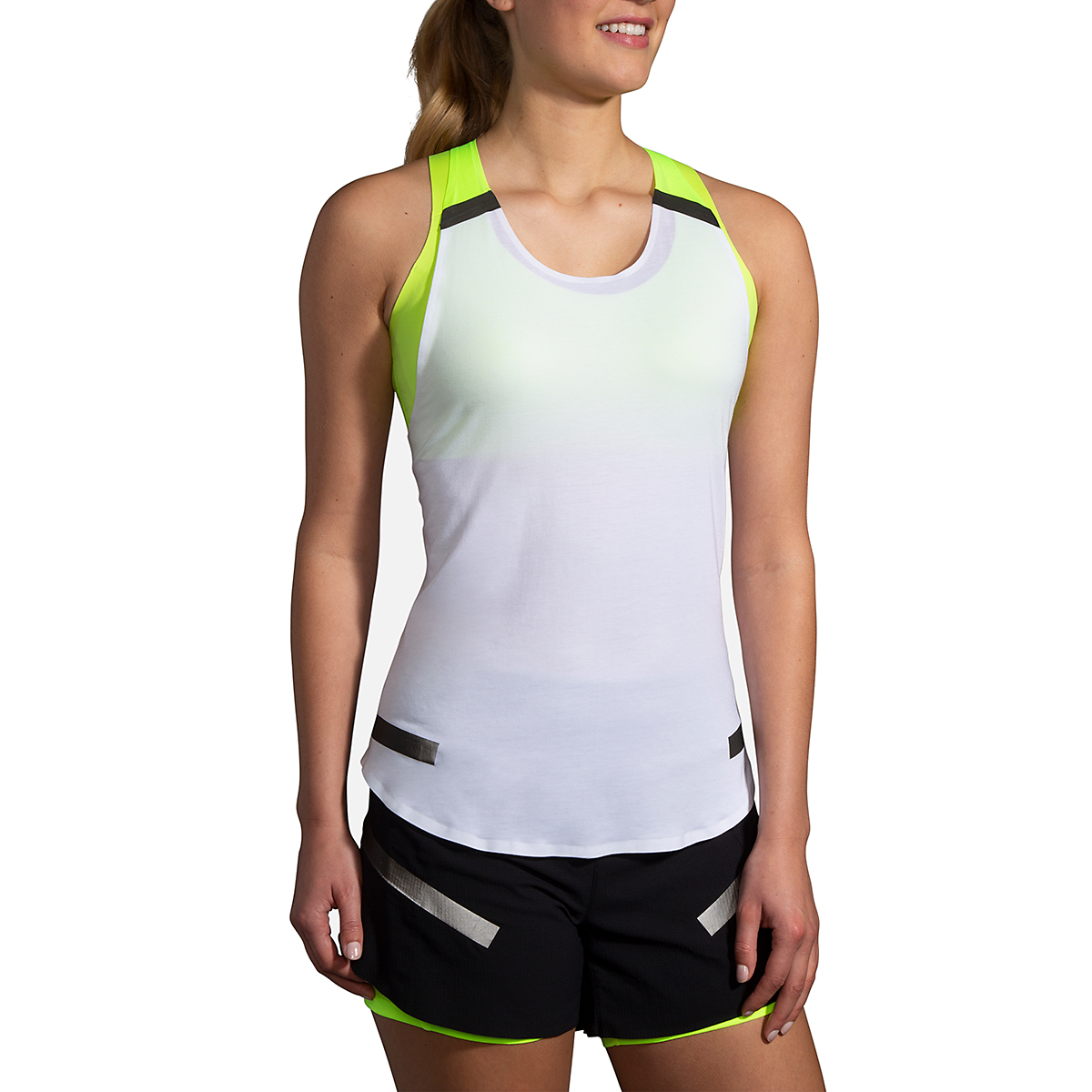 Women's Brooks Run Visible Carbonite Tank  - Color: Luminosity - Size: S, Luminosity, large, image 1