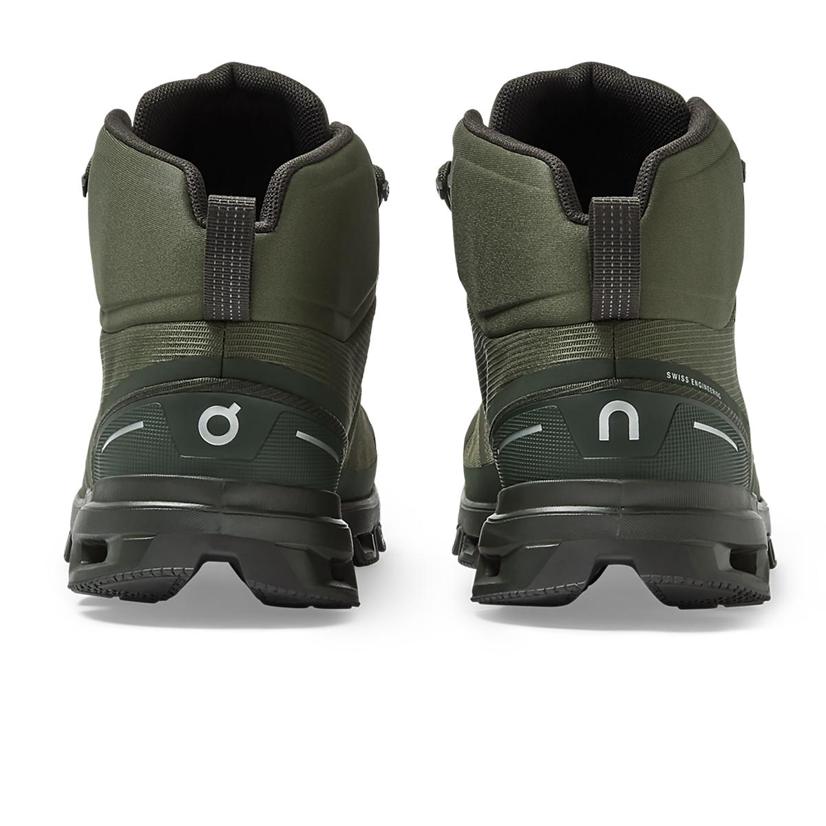 Men's On Cloudrock Waterproof Trail Running Shoe - Color: Jungle/Fir - Size: 7 - Width: Regular, Jungle/Fir, large, image 3