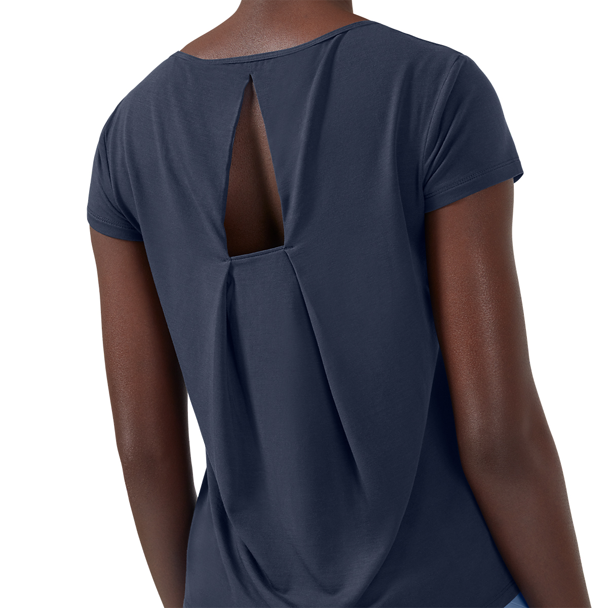 Women's On Active-T Breathe Tee - Color: Navy - Size: XS, Navy, large, image 4