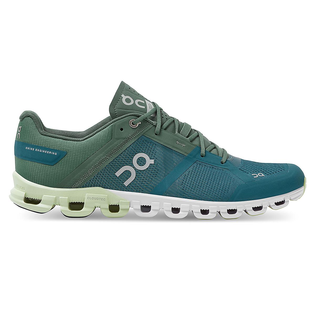 Men's On Cloudflow 2.0 Running Shoe - Color: Sea/Petrol - Size: 7 - Width: Regular, Sea/Petrol, large, image 1