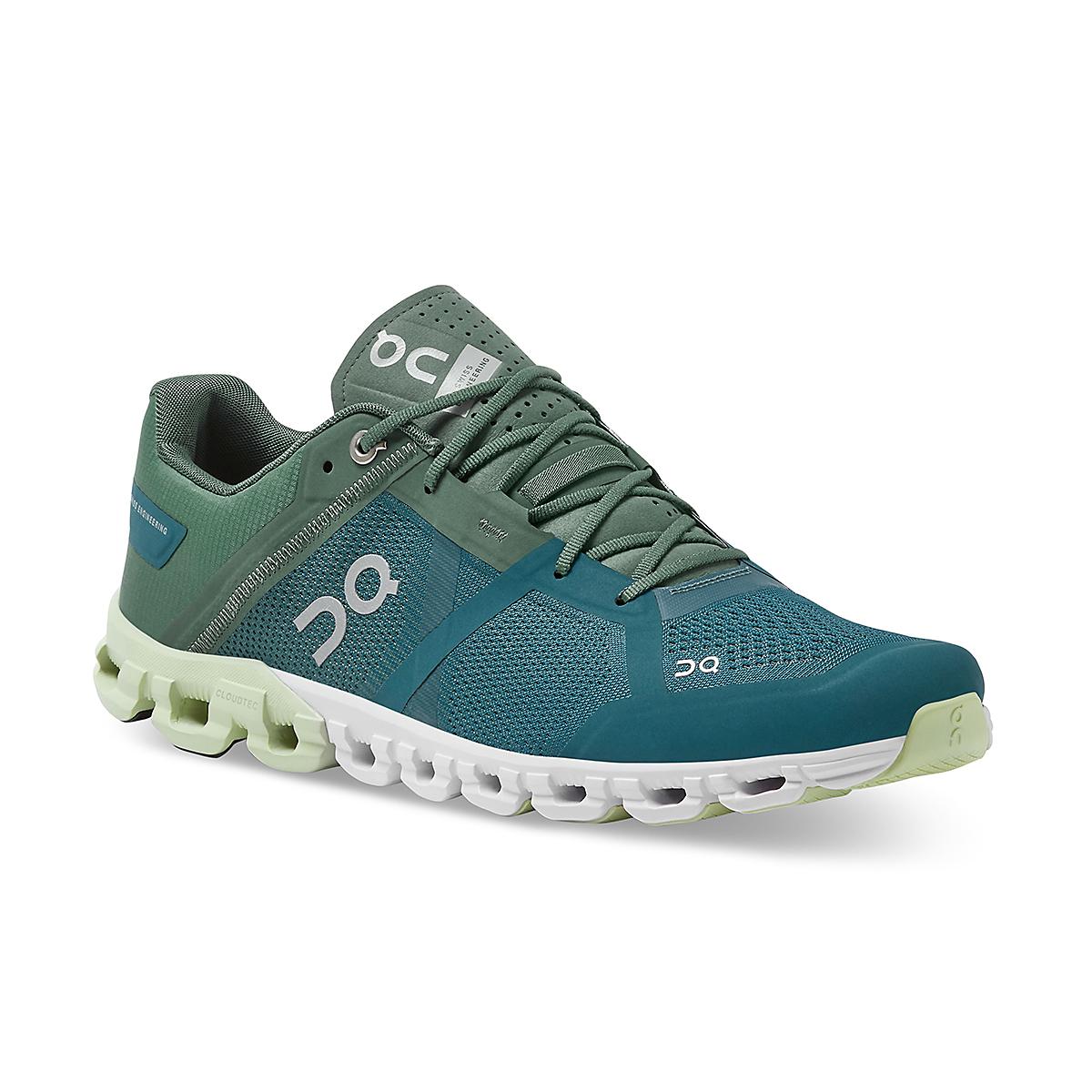 Men's On Cloudflow 2.0 Running Shoe - Color: Sea/Petrol - Size: 7 - Width: Regular, Sea/Petrol, large, image 2