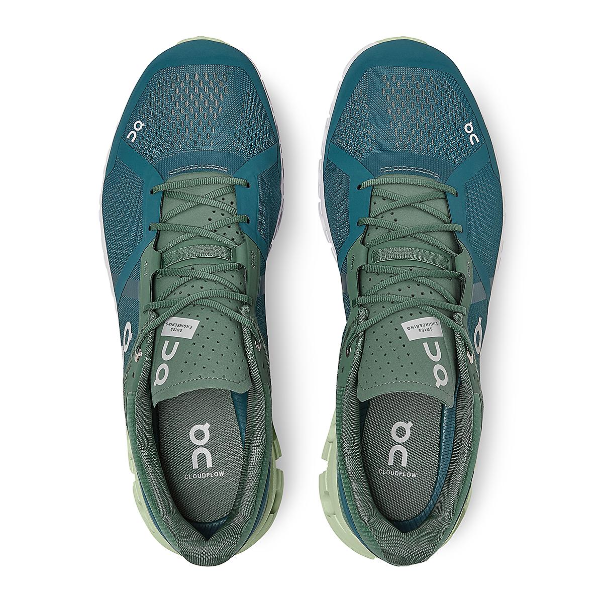 Men's On Cloudflow 2.0 Running Shoe - Color: Sea/Petrol - Size: 7 - Width: Regular, Sea/Petrol, large, image 3
