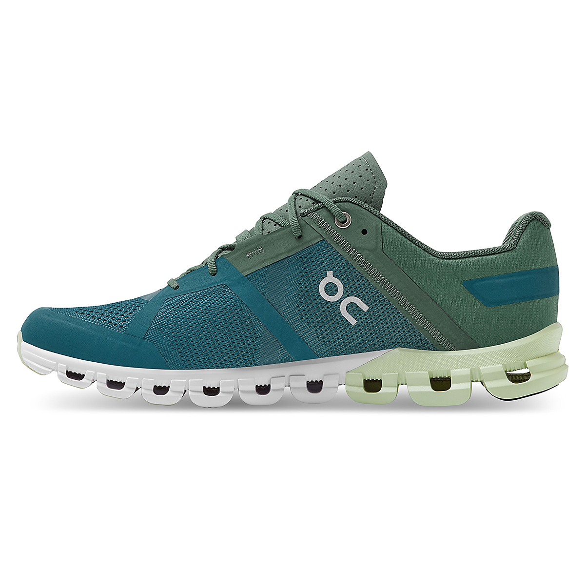 Men's On Cloudflow 2.0 Running Shoe - Color: Sea/Petrol - Size: 7 - Width: Regular, Sea/Petrol, large, image 4