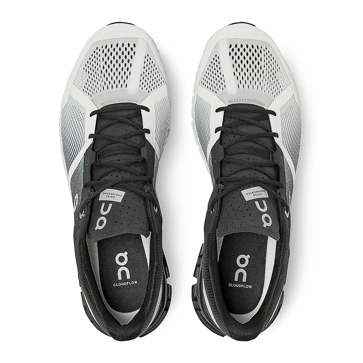 Men's On Cloudflow 2.0 Running Shoe - Color: Black/White - Size: 9.5 - Width: Regular, Black/White, large, image 3