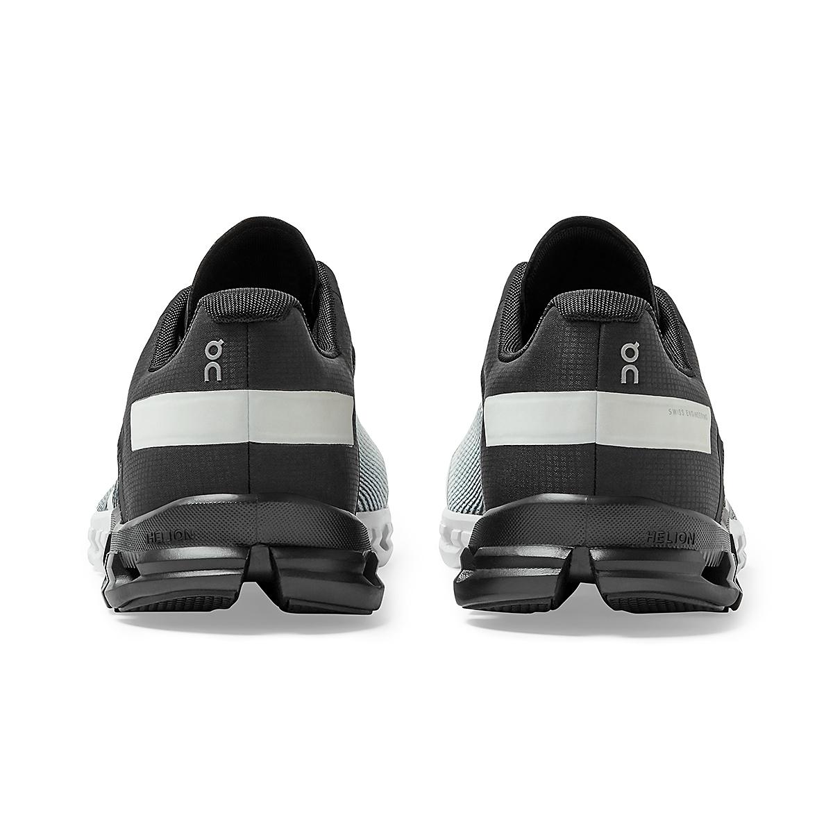Men's On Cloudflow 2.0 Running Shoe - Color: Black/White - Size: 9.5 - Width: Regular, Black/White, large, image 4