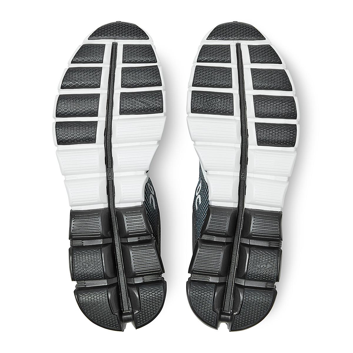 Men's On Cloudflow 2.0 Running Shoe - Color: Black/White - Size: 9.5 - Width: Regular, Black/White, large, image 5