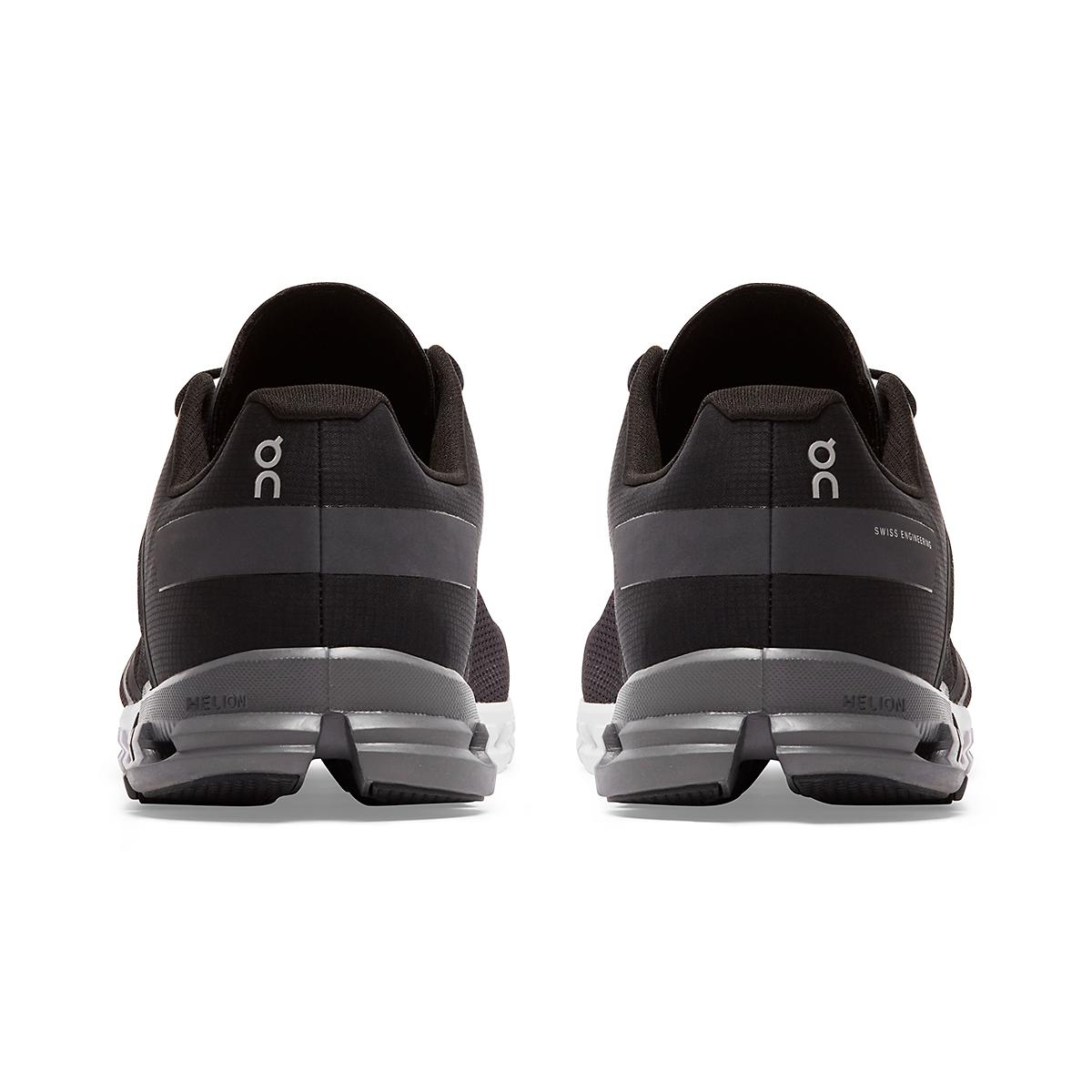 Men's On Cloudflow 2.0 Running Shoe - Color: Black/Asphalt - Size: 7 - Width: Regular, Black/Asphalt, large, image 4