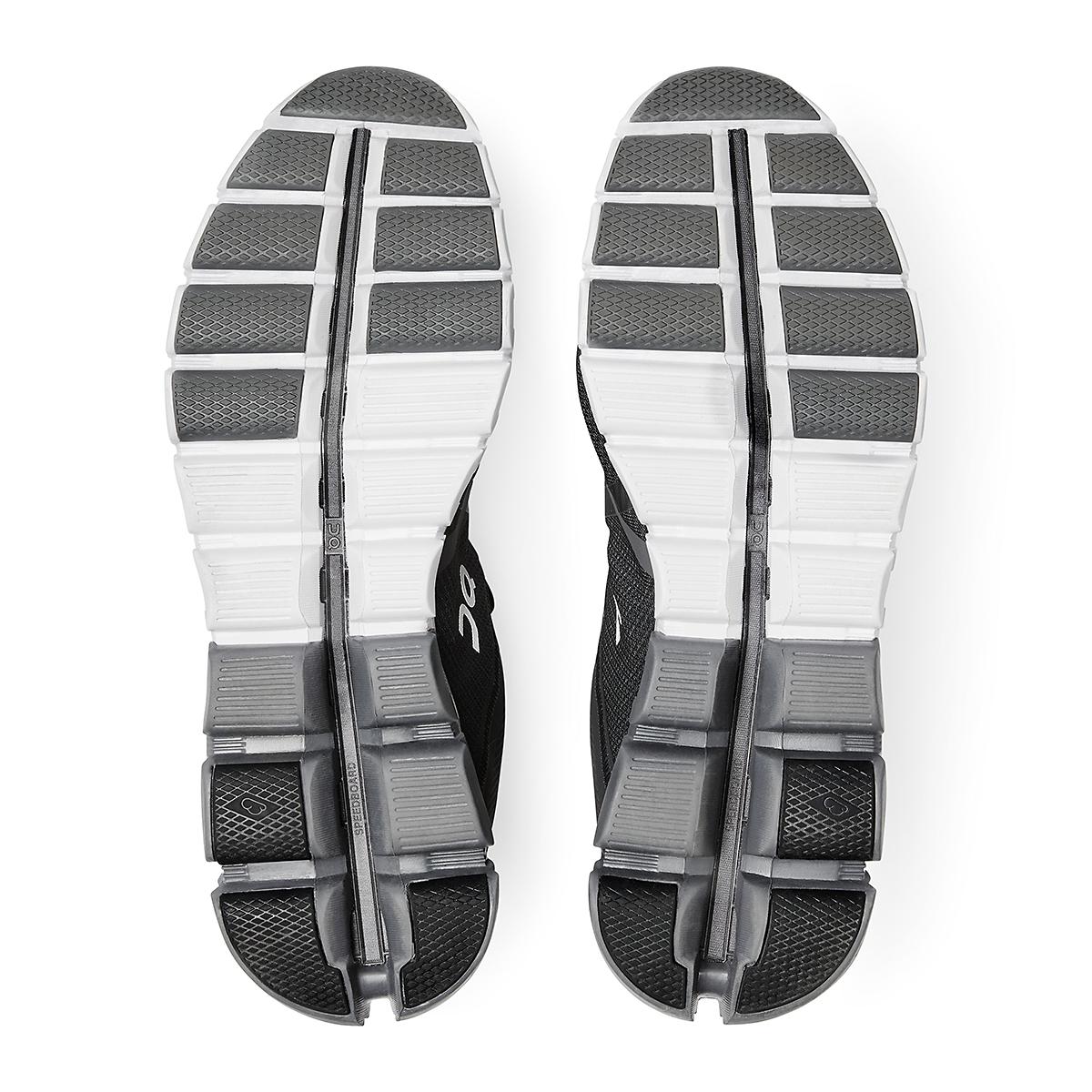 Men's On Cloudflow 2.0 Running Shoe - Color: Black/Asphalt - Size: 7 - Width: Regular, Black/Asphalt, large, image 5
