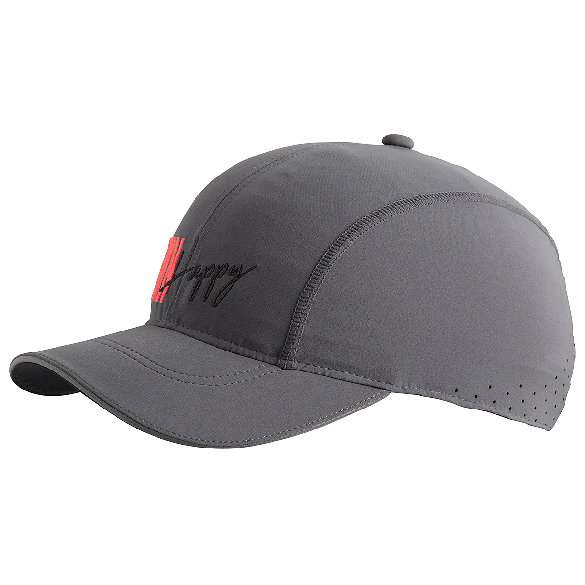 Brooks Chaser Hat - Color: Steel/Run Happy - Size: One Size, Steel/Run Happy, large, image 1