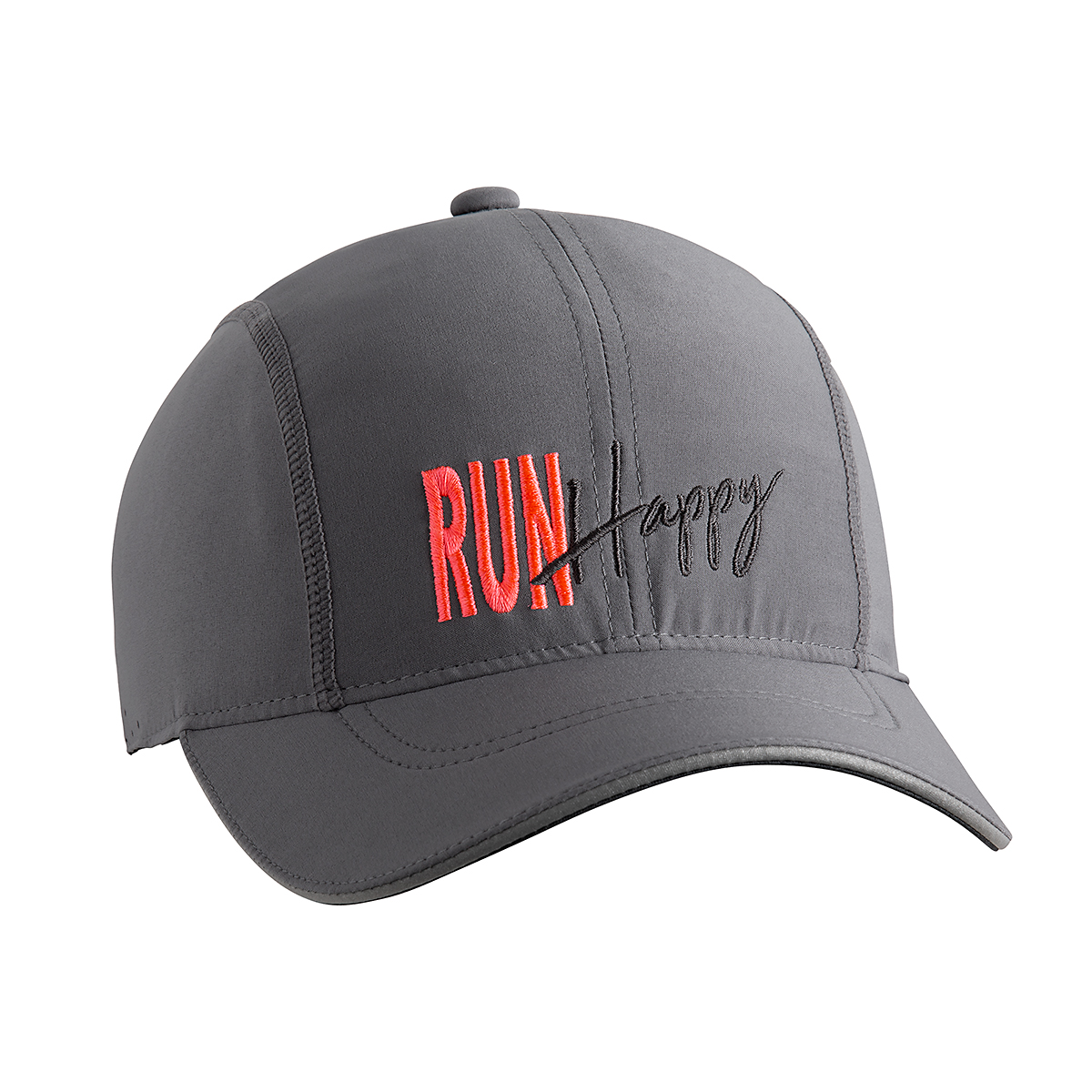 Brooks Chaser Hat - Color: Steel/Run Happy - Size: One Size, Steel/Run Happy, large, image 2