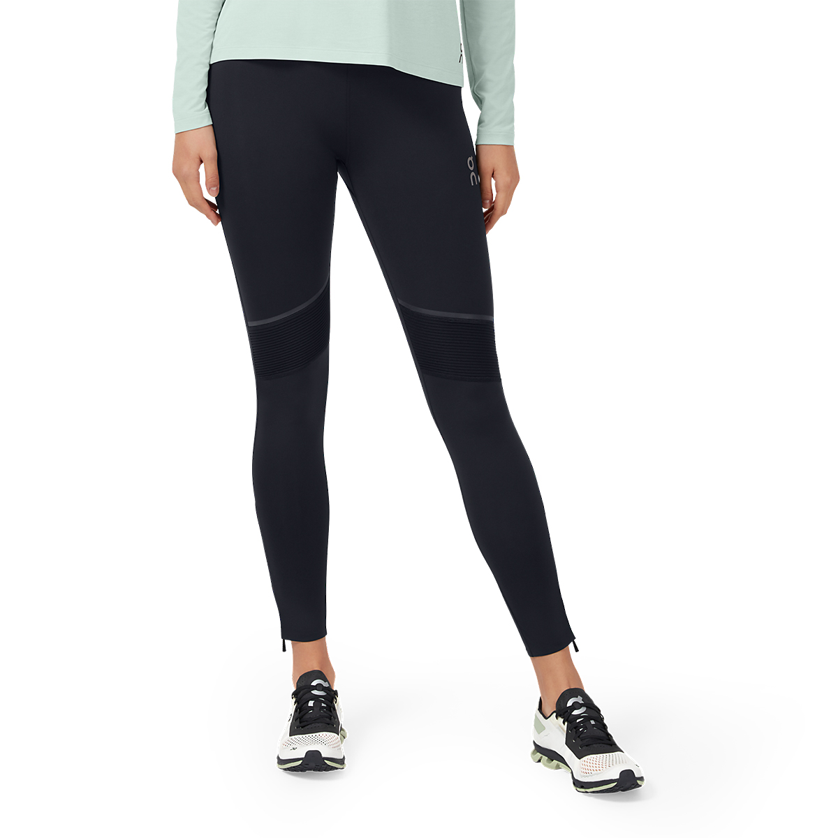 Women's On Tights Long - Color: Black - Size: XS, Black, large, image 1