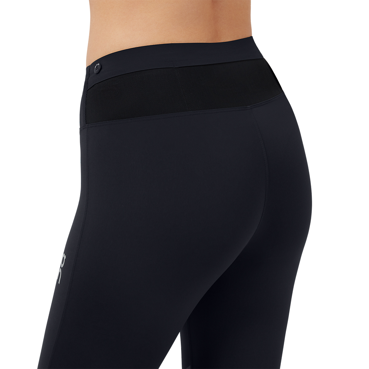 Women's On Tights Long - Color: Black - Size: XS, Black, large, image 4