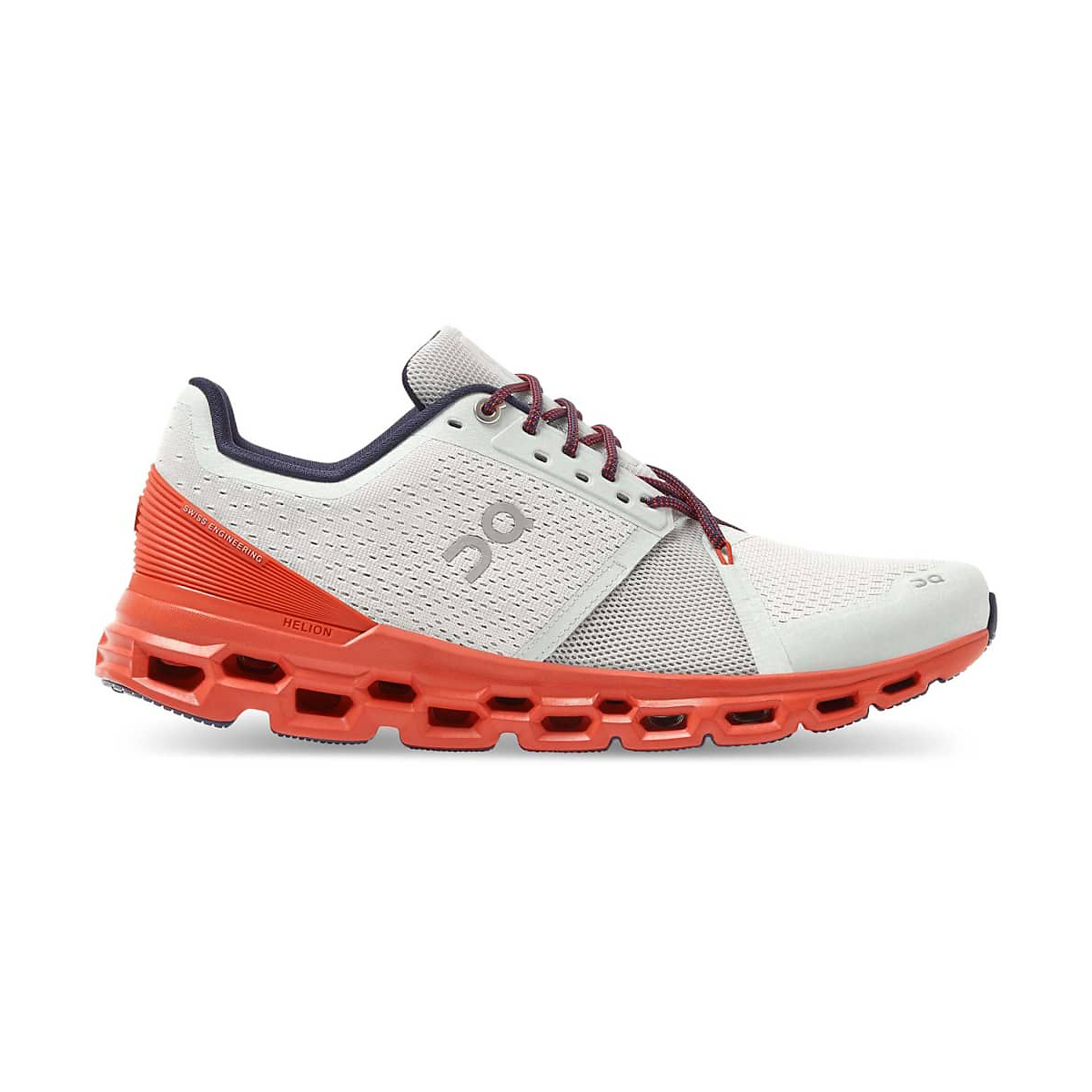 Men's On Cloudstratus Running Shoe - Color: Mineral/Rust - Size: 7 - Width: Regular, Mineral/Rust, large, image 1
