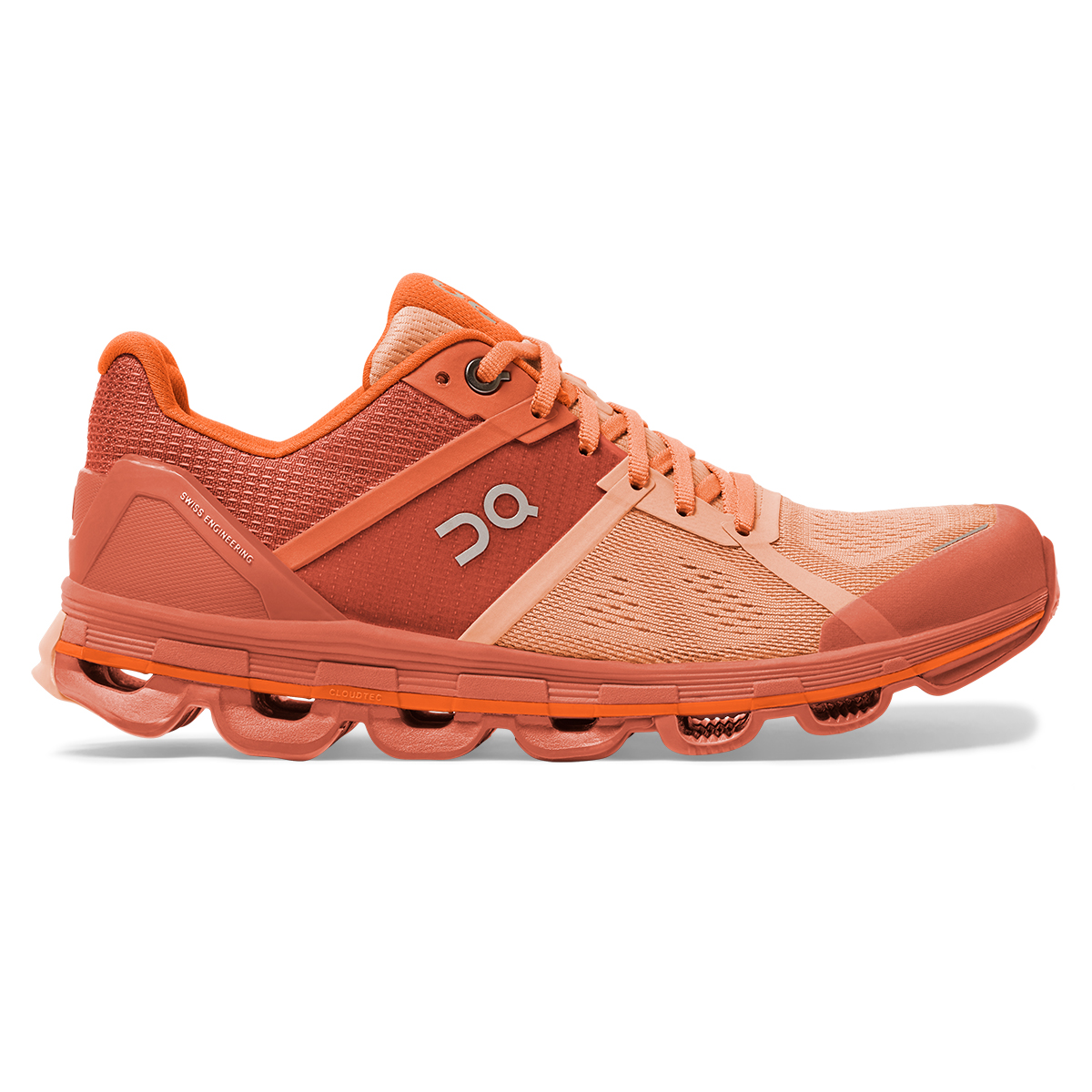 Women's On Cloudace Running Shoe - Color: Blush/Orange - Size: 5 - Width: Regular, Blush/Orange, large, image 1