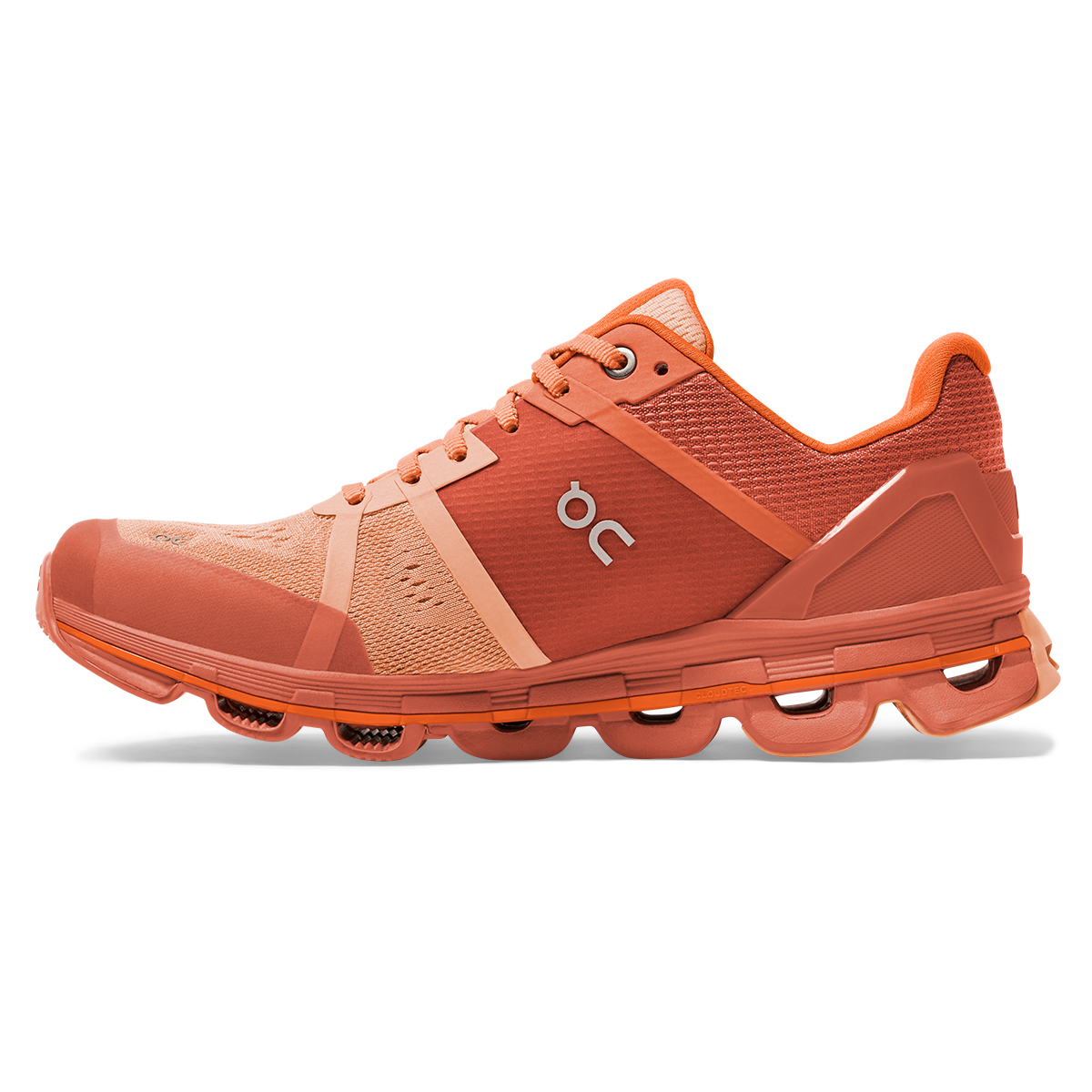 Women's On Cloudace Running Shoe - Color: Blush/Orange - Size: 5 - Width: Regular, Blush/Orange, large, image 2