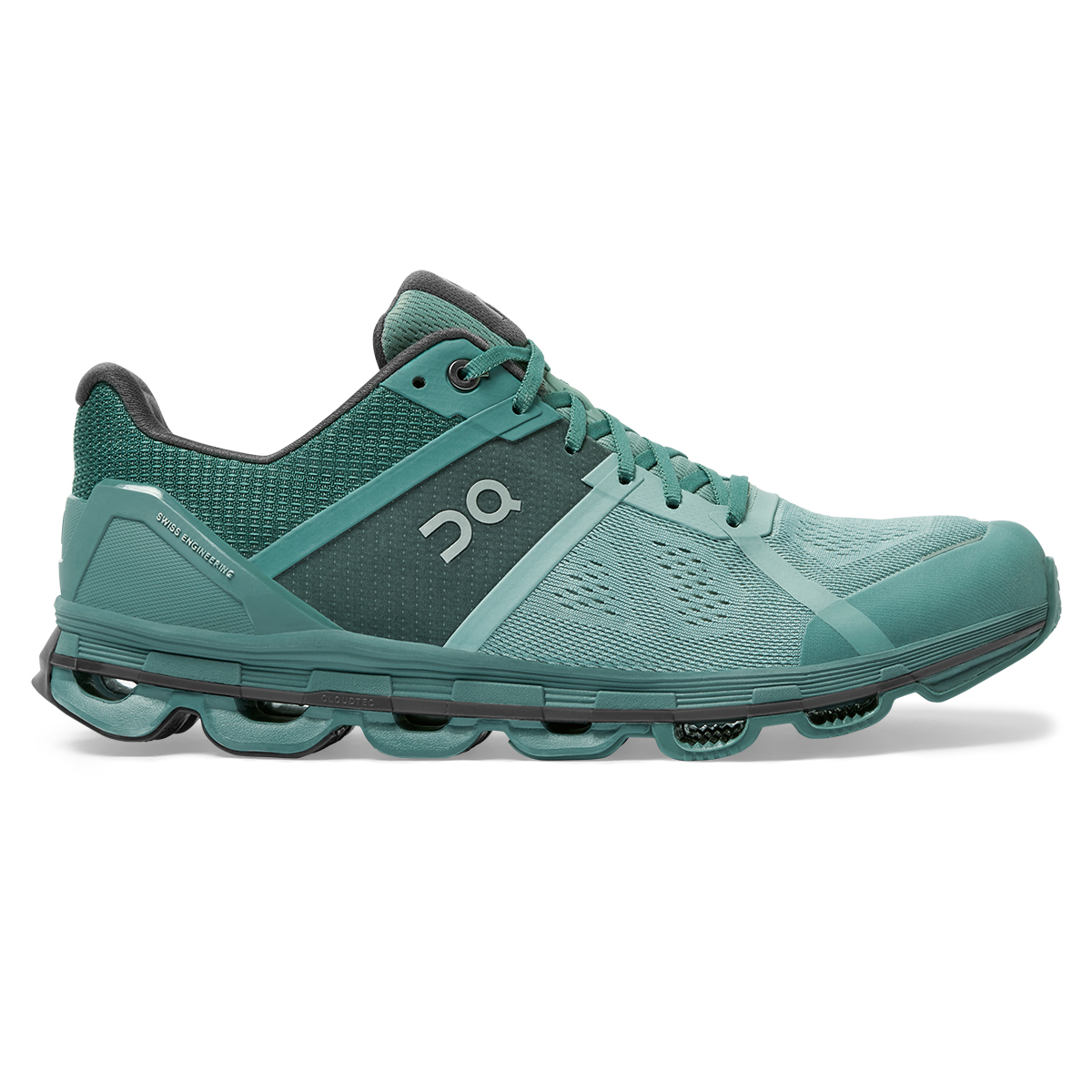 Men's On Cloudace Running Shoe - Color: Sea/Shadow - Size: 7 - Width: Regular, Sea/Shadow, large, image 1