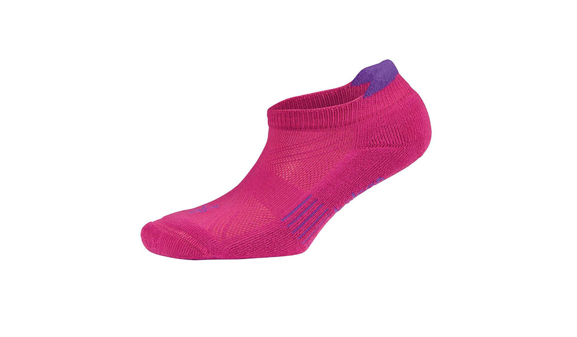 Balega Hidden Cool 2 No Show Socks - Color: Bright Pink/Purple Size: M, Pink/Purple, large, image 1
