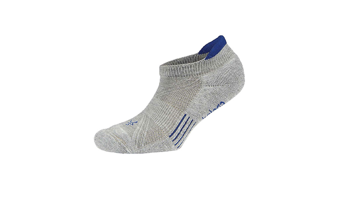 Balega Hidden Cool 2 No Show Socks - Color: Grey/Blue Size: M, Grey/Blue, large, image 1
