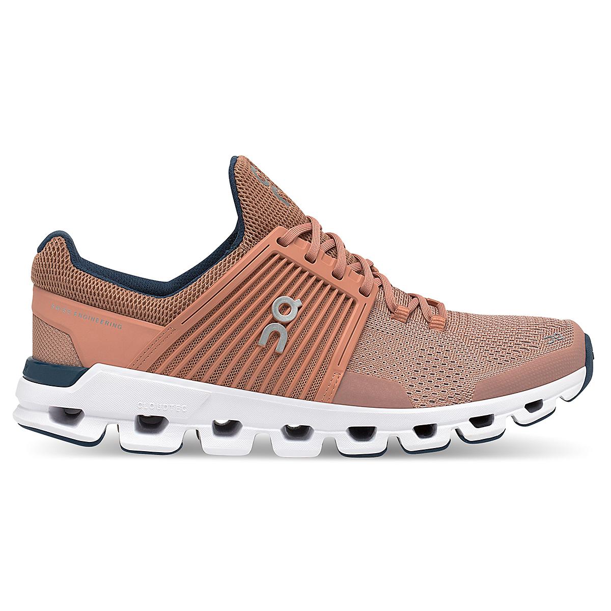 Women's On Cloudswift Running Shoe - Color: Blush/Denim - Size: 6 - Width: Regular, Blush/Denim, large, image 1