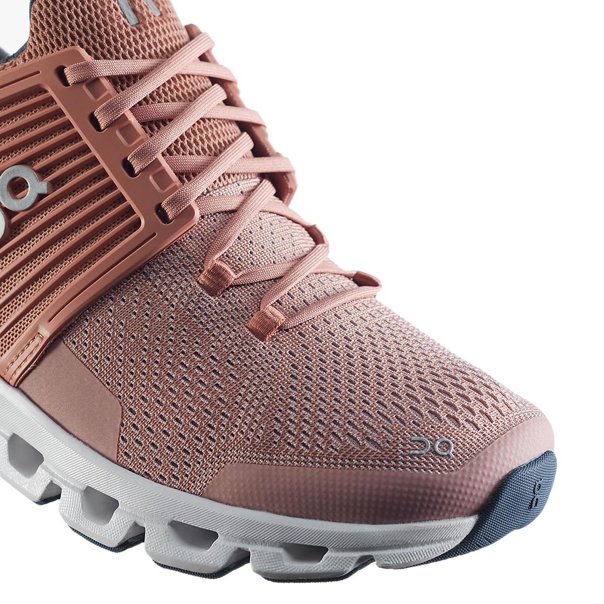 Women's On Cloudswift Running Shoe - Color: Blush/Denim - Size: 6 - Width: Regular, Blush/Denim, large, image 2