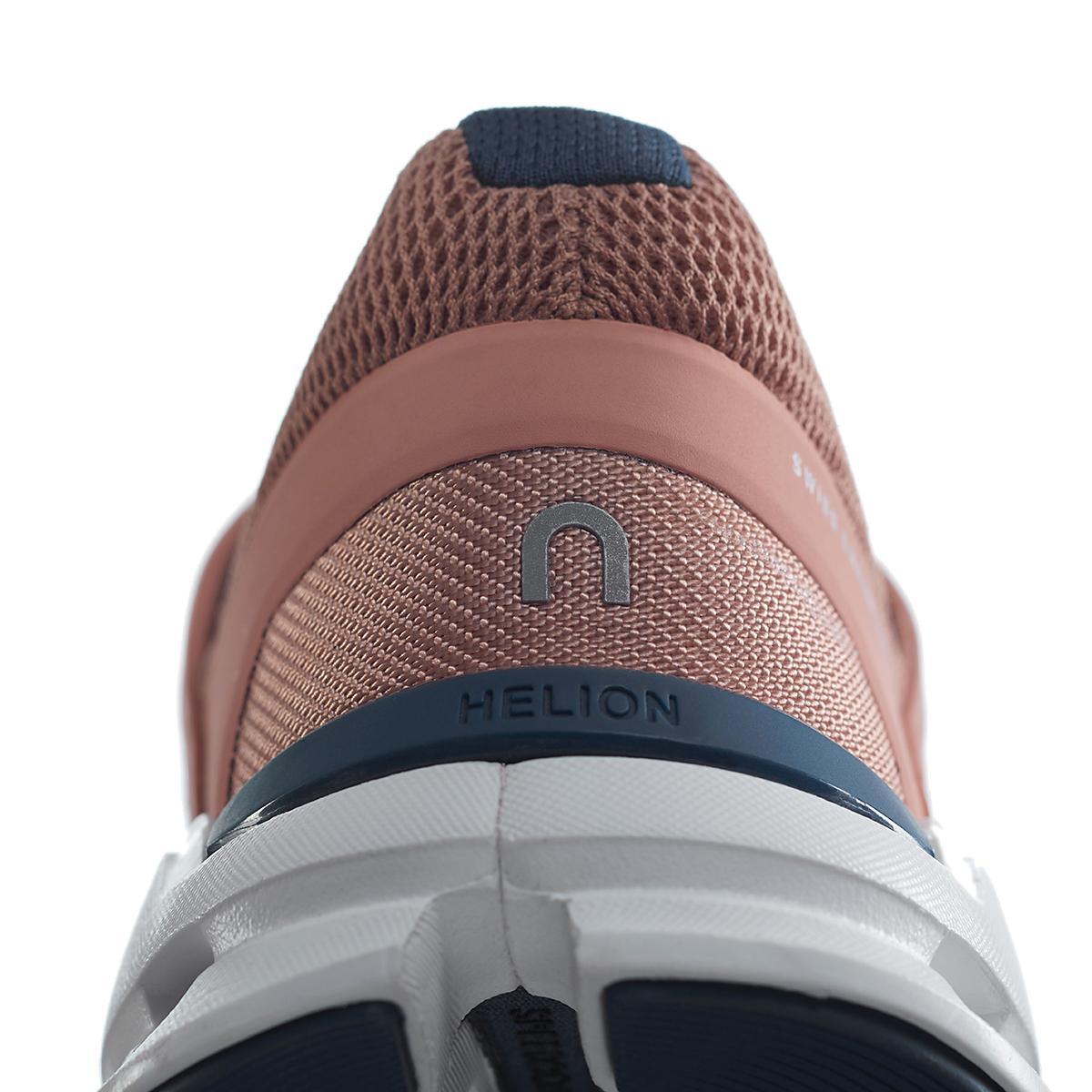 Women's On Cloudswift Running Shoe - Color: Blush/Denim - Size: 6 - Width: Regular, Blush/Denim, large, image 3