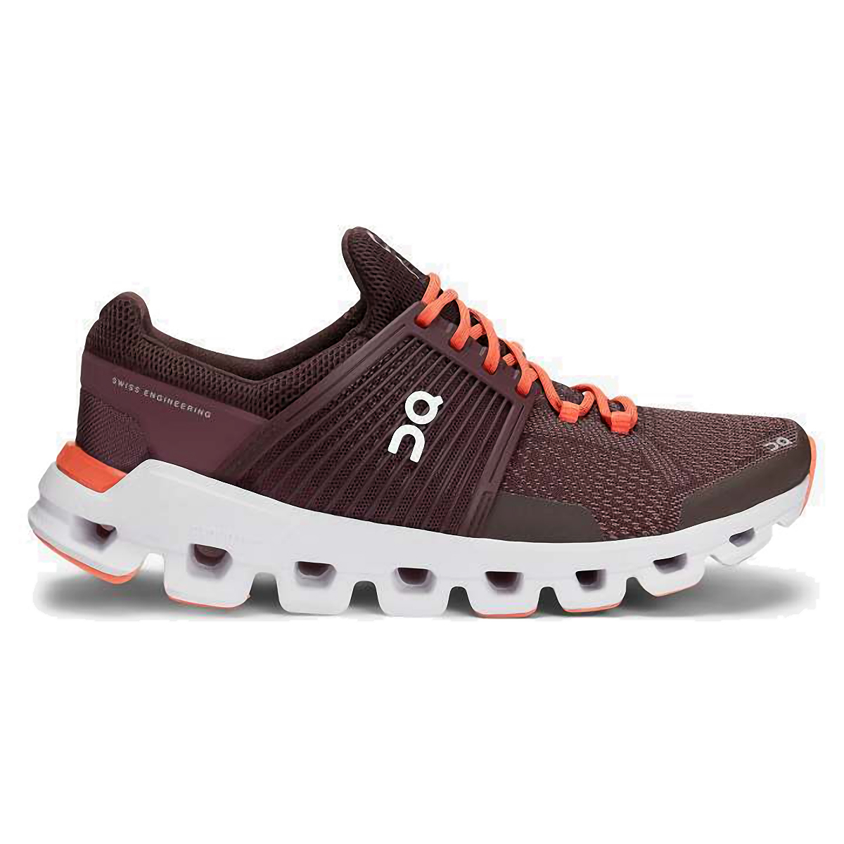 Women's On Cloudswift Running Shoe - Color: Plum/Dawn - Size: 6 - Width: Regular, Plum/Dawn, large, image 1
