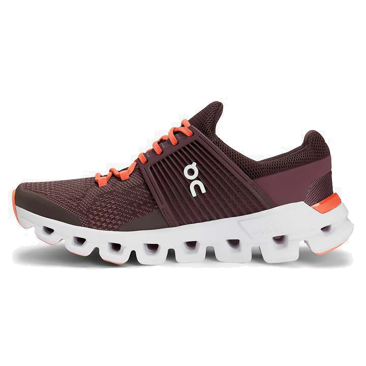 Women's On Cloudswift Running Shoe - Color: Plum/Dawn - Size: 6 - Width: Regular, Plum/Dawn, large, image 2