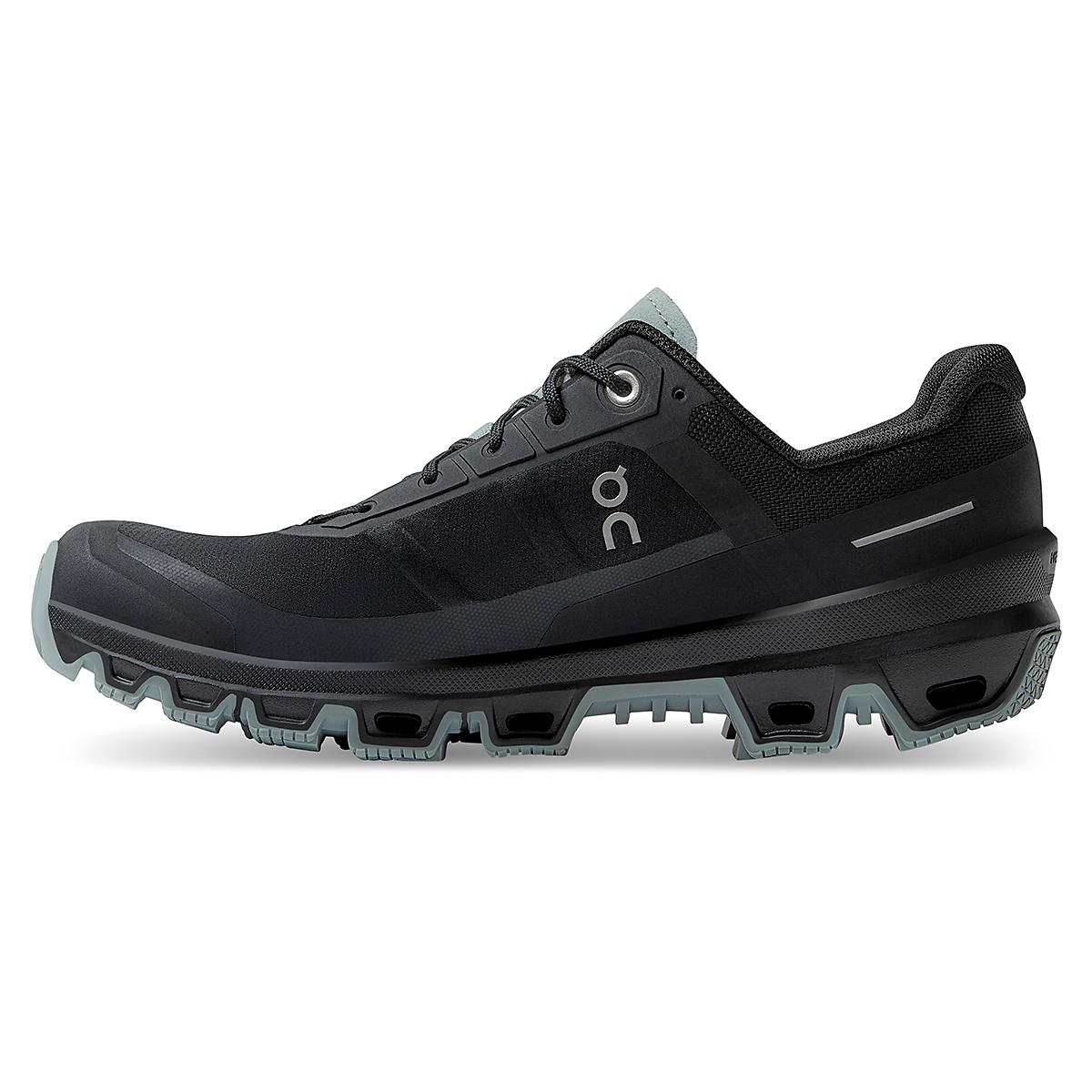 Women's On Cloudventure Running Shoe - Color: Black/Cobble - Size: 5 - Width: Regular, Black/Cobble, large, image 3