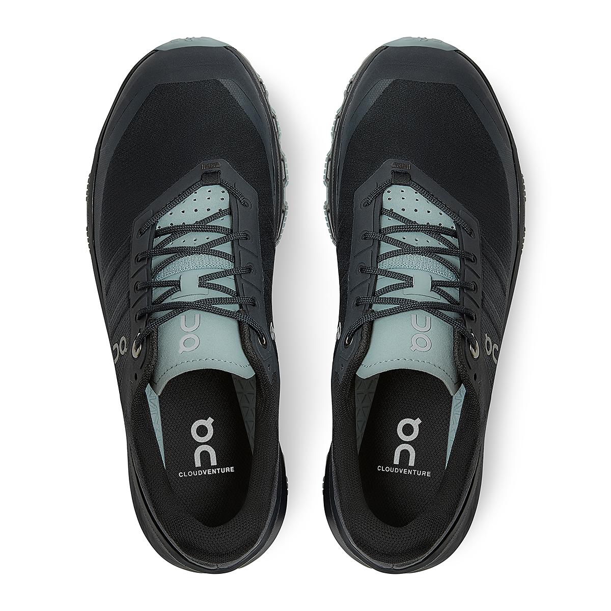 Women's On Cloudventure Running Shoe - Color: Black/Cobble - Size: 5 - Width: Regular, Black/Cobble, large, image 4