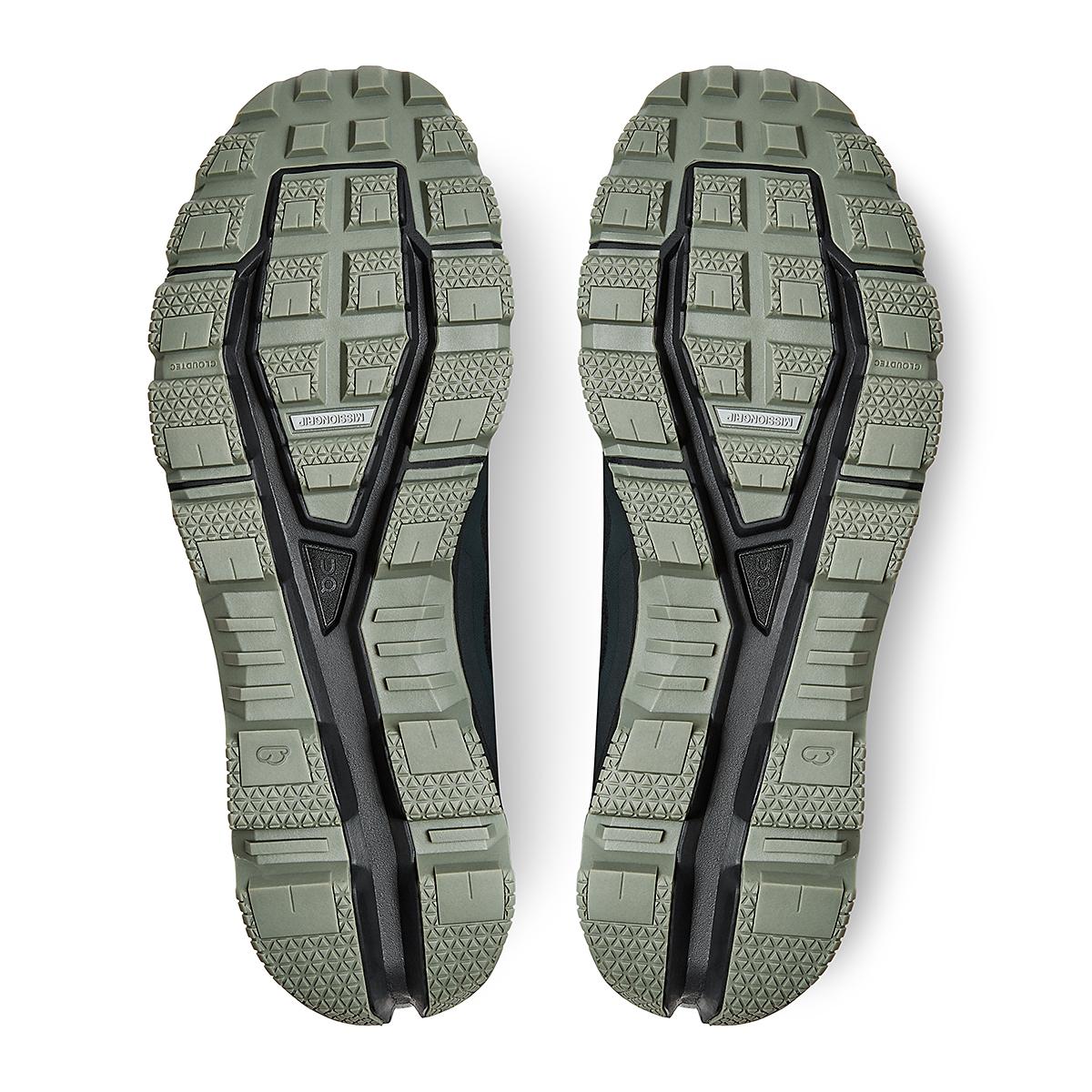 Men's On Cloudventure Running Shoe - Color: Black/Reseda - Size: 7 - Width: Regular, Black/Reseda, large, image 5