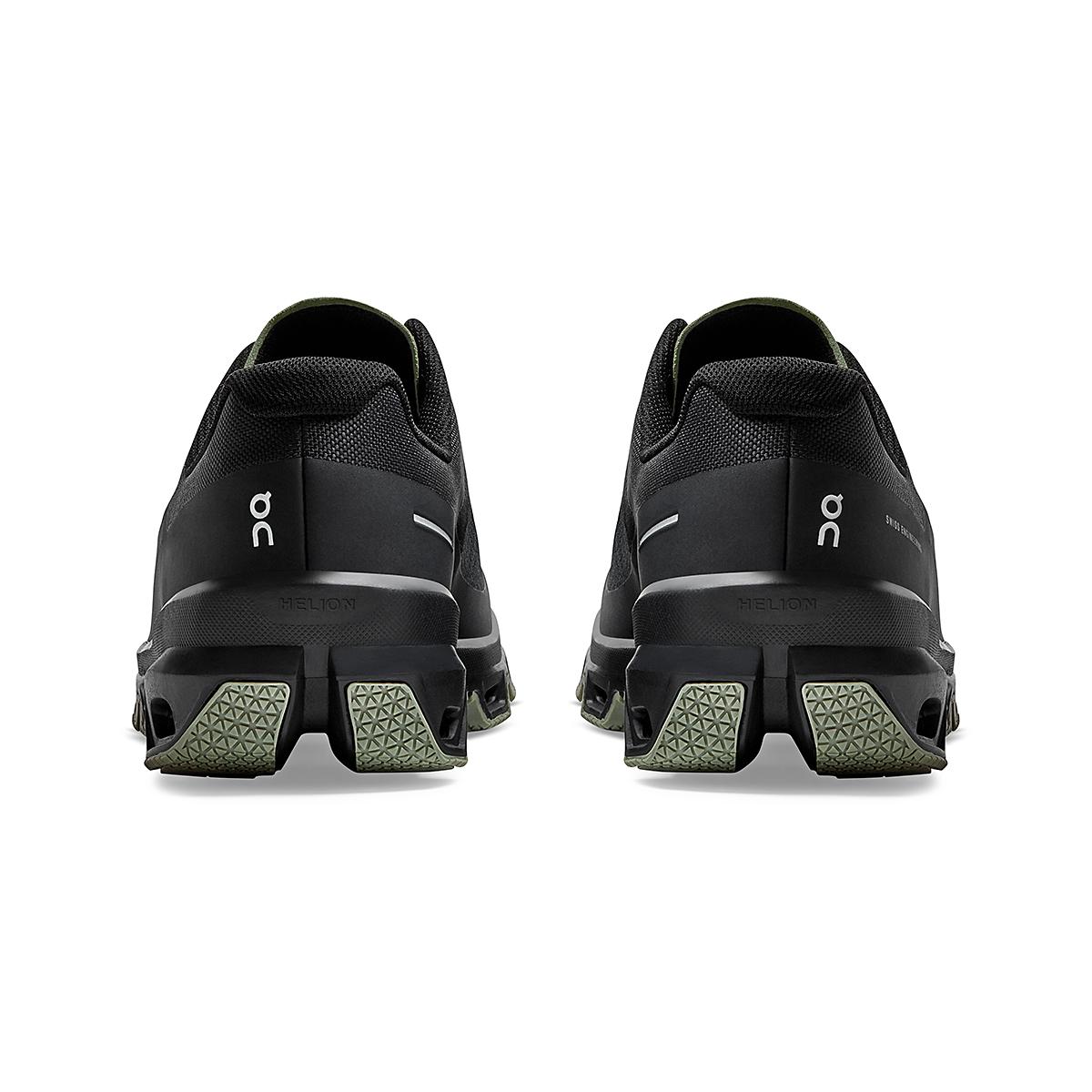 Men's On Cloudventure Running Shoe - Color: Black/Reseda - Size: 7 - Width: Regular, Black/Reseda, large, image 6