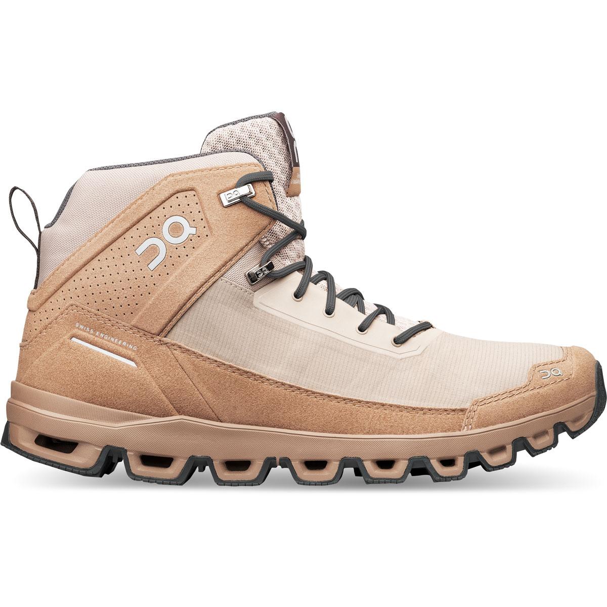 Men's On Cloudridge Hiking Shoe - Color: Sand | Rock - Size: 7 - Width: Regular, Sand | Rock, large, image 1