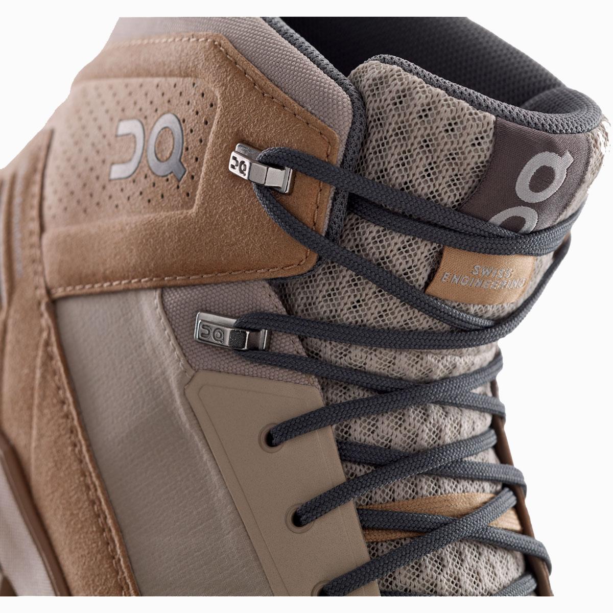 Men's On Cloudridge Hiking Shoe - Color: Sand | Rock - Size: 7 - Width: Regular, Sand | Rock, large, image 2