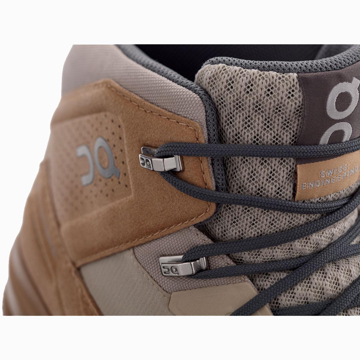 Men's On Cloudridge Hiking Shoe - Color: Sand | Rock - Size: 7 - Width: Regular, Sand | Rock, large, image 3