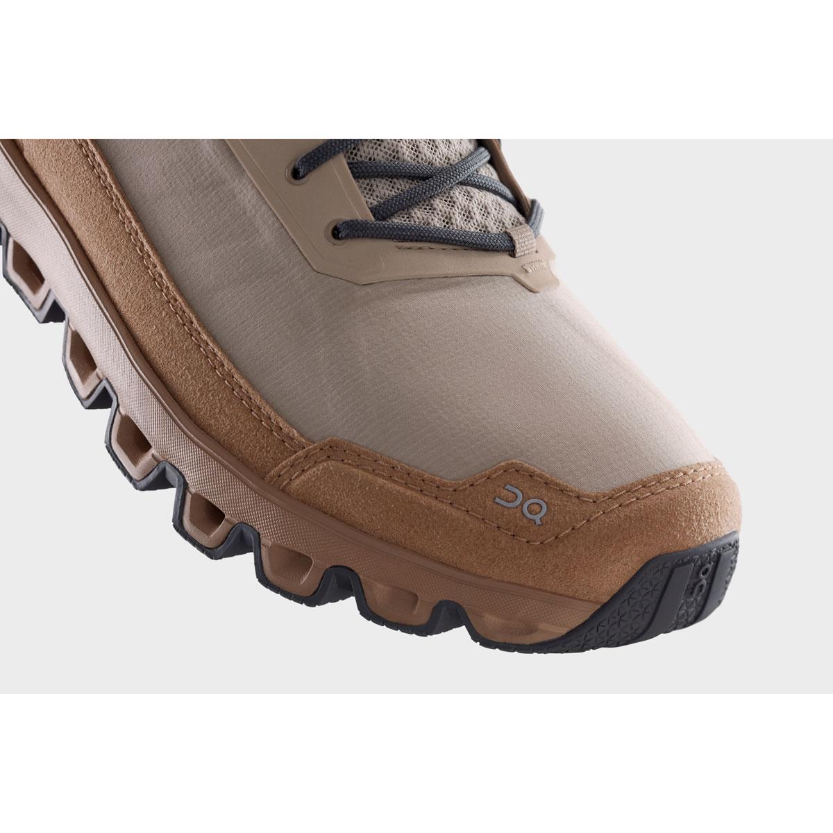 Men's On Cloudridge Hiking Shoe - Color: Sand | Rock - Size: 7 - Width: Regular, Sand | Rock, large, image 4