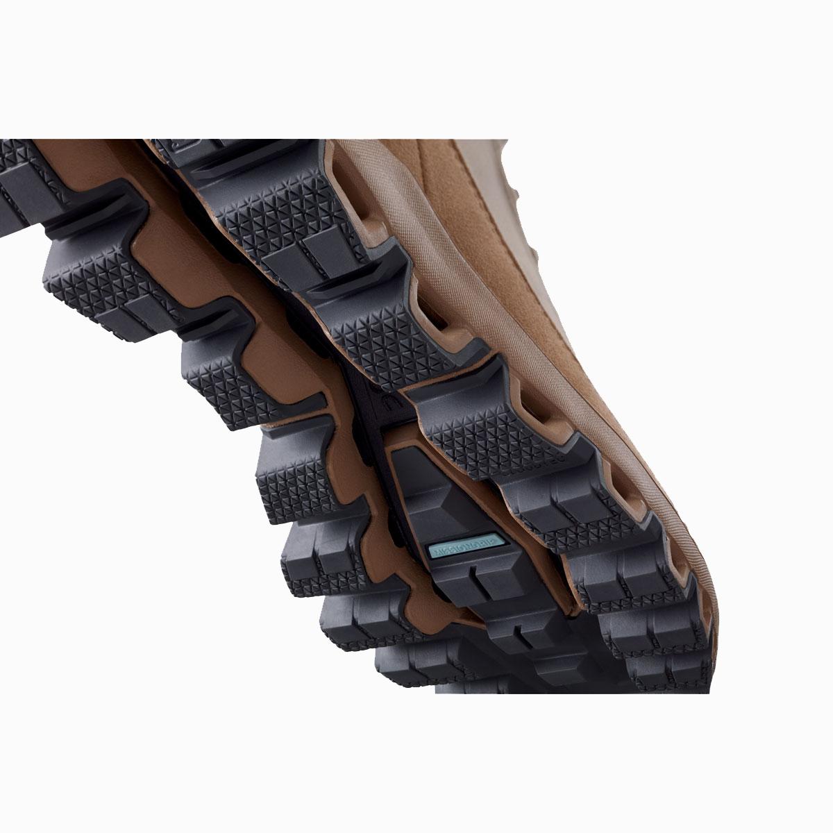 Men's On Cloudridge Hiking Shoe - Color: Sand | Rock - Size: 7 - Width: Regular, Sand | Rock, large, image 5
