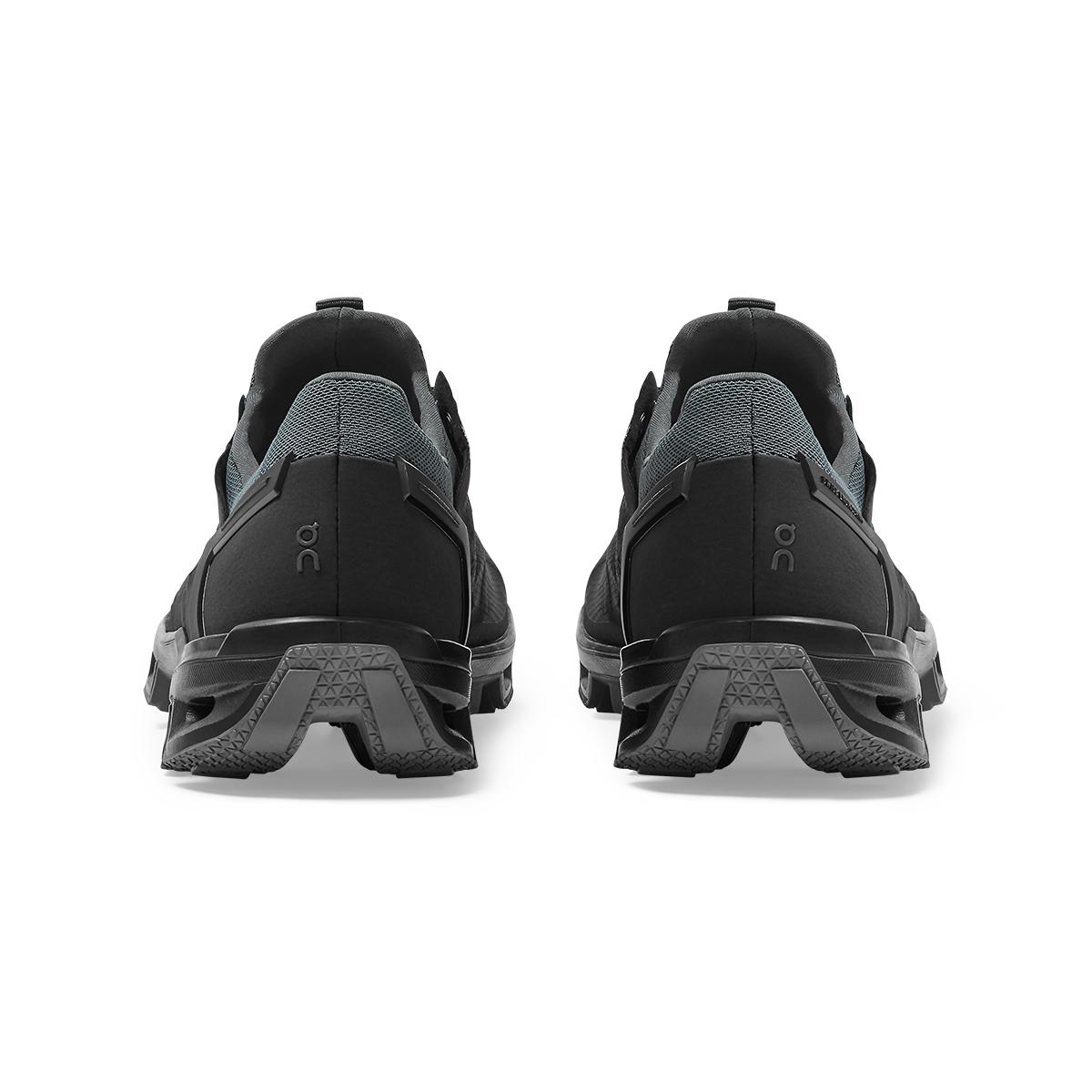 Women's On Cloudventure Peak Running Shoe - Color: Black/Rock - Size: 5 - Width: Regular, Black/Rock, large, image 4