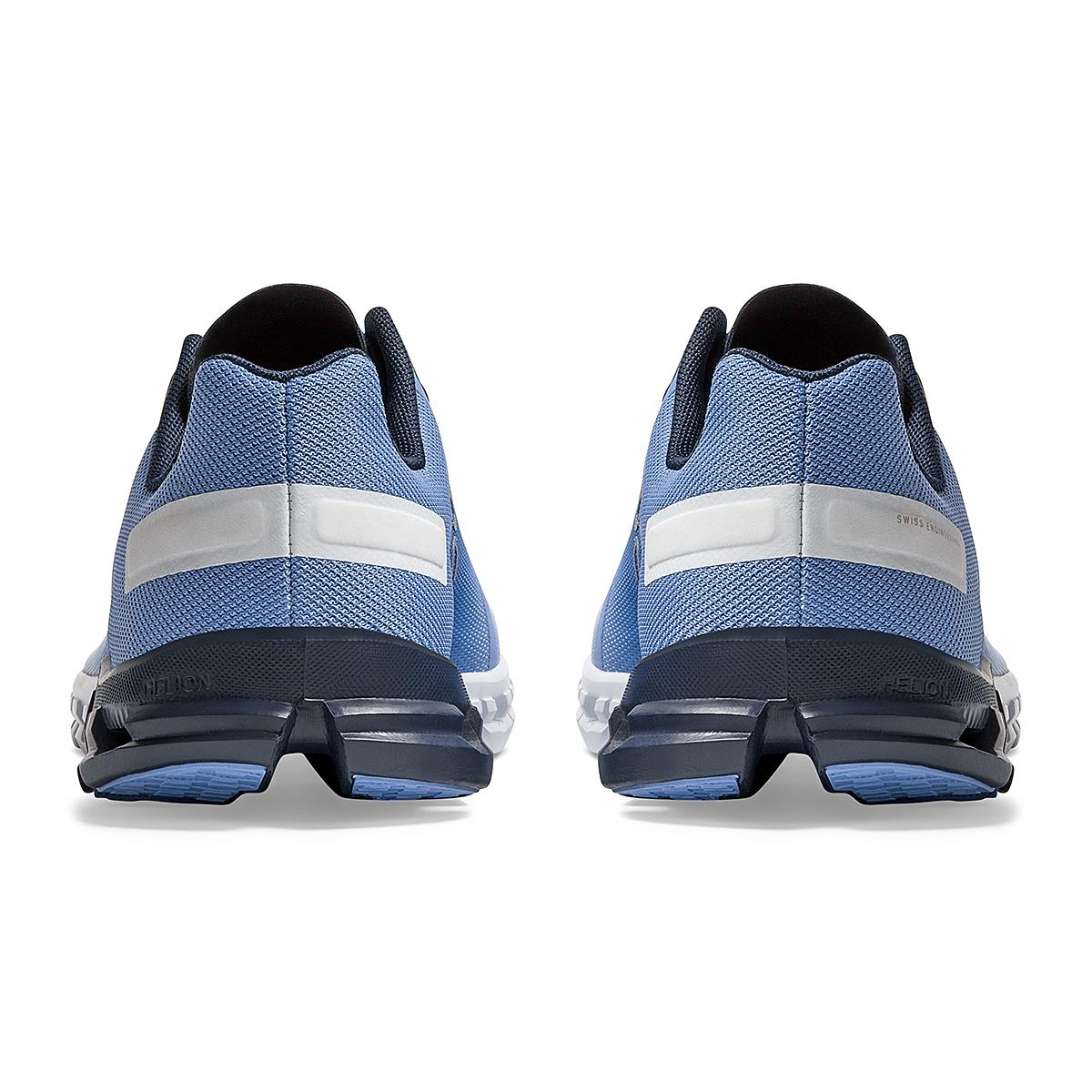 Women's On Cloudflow 3.0 Running Shoe - Color: Marina/White - Size: 5 - Width: Regular, Marina/White, large, image 5