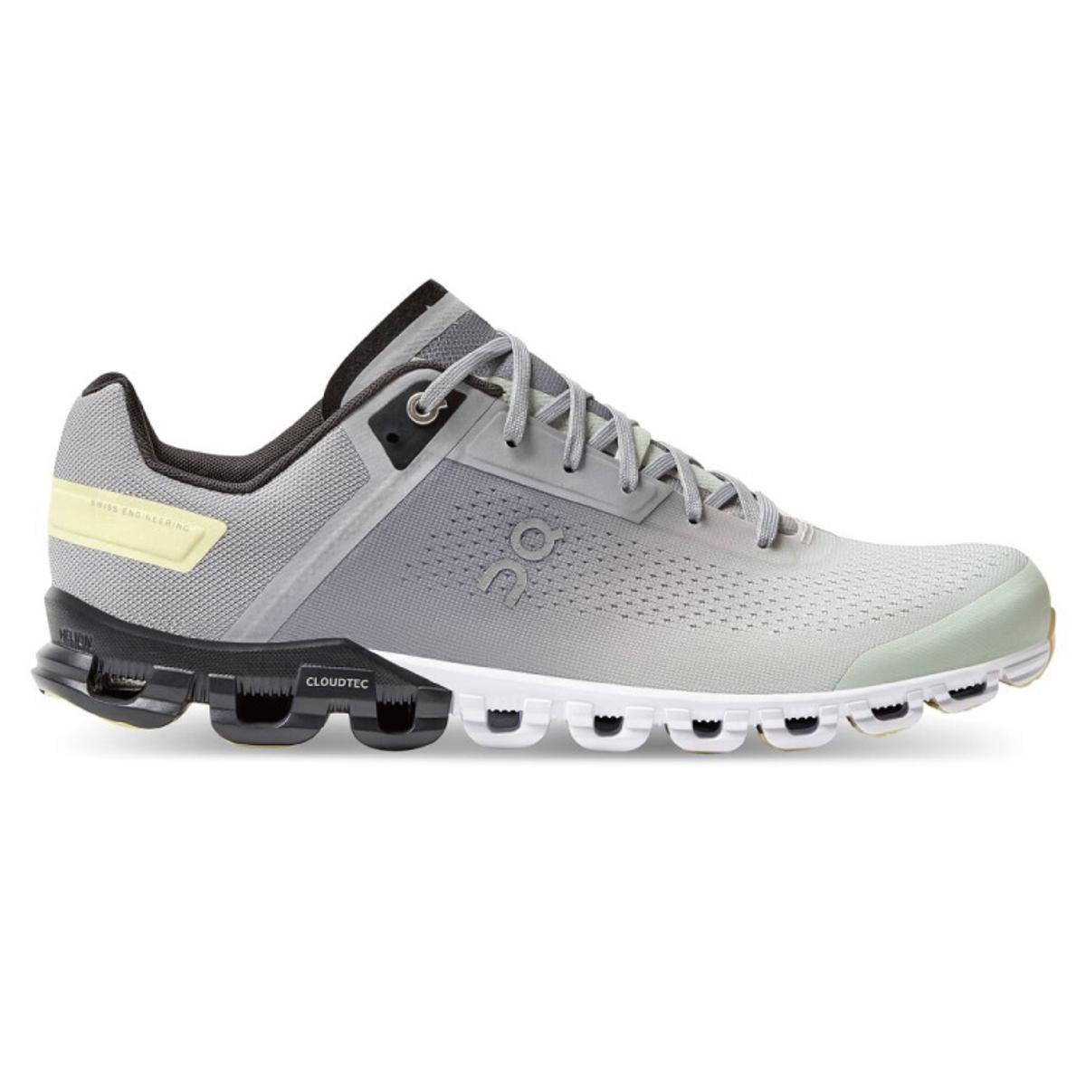 Men's On Cloudflow 3.0 Running Shoe - Color: Alloy/Magnet - Size: 7 - Width: Regular, Alloy/Magnet, large, image 1