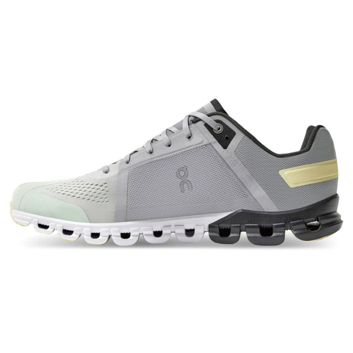 Men's On Cloudflow 3.0 Running Shoe - Color: Alloy/Magnet - Size: 7 - Width: Regular, Alloy/Magnet, large, image 2