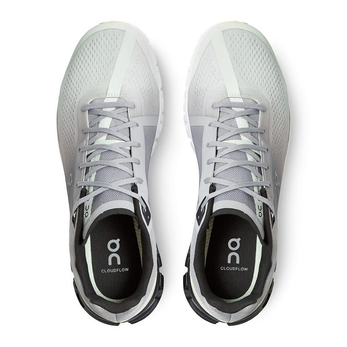Men's On Cloudflow 3.0 Running Shoe - Color: Alloy/Magnet - Size: 7 - Width: Regular, Alloy/Magnet, large, image 3