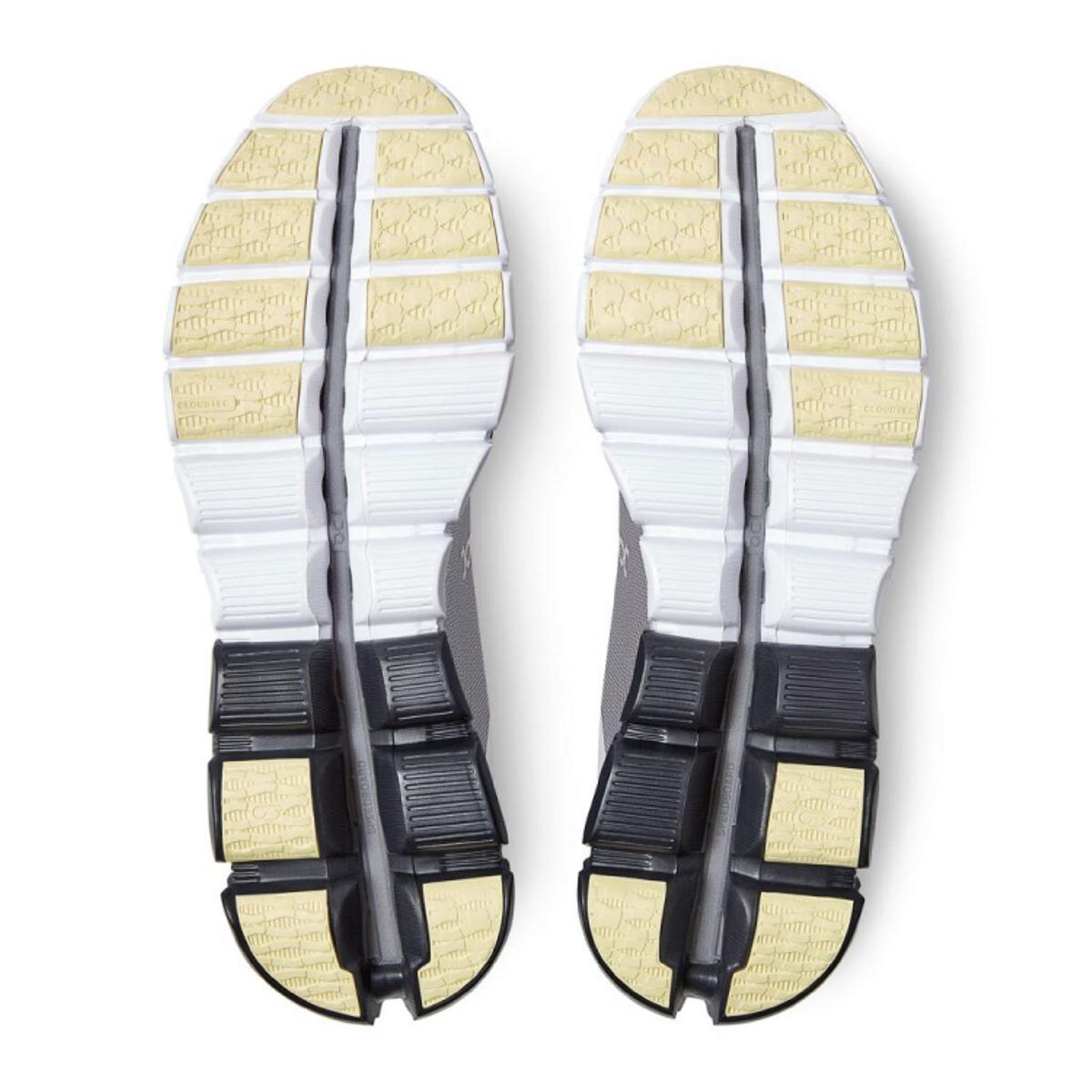 Men's On Cloudflow 3.0 Running Shoe - Color: Alloy/Magnet - Size: 7 - Width: Regular, Alloy/Magnet, large, image 4