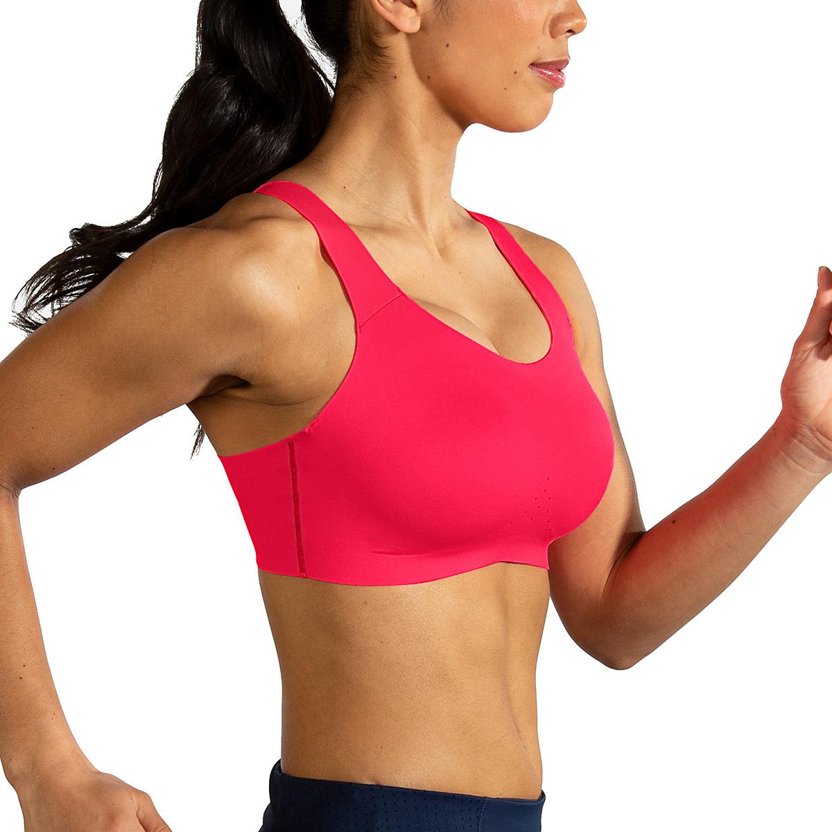 Women's Brooks Dare Scoopback Run Bra, , large, image 3