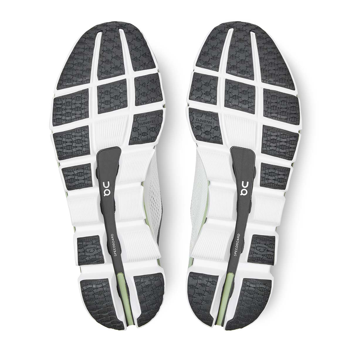 Size 6.5 /& 7.5 White Black On Cloudboom Women's Road Running Shoes