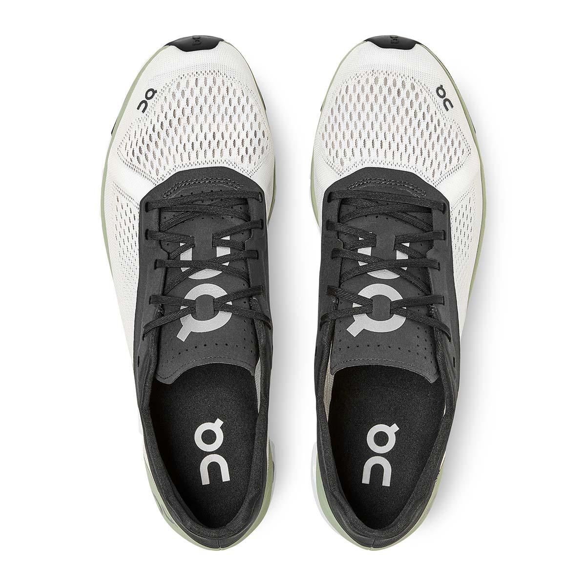 Men's On Cloudboom Running Shoe - Color: White/Black - Size: 7 - Width: Regular, White/Black, large, image 4